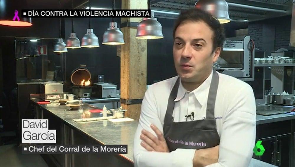 David García, chef del Corral de la Morería