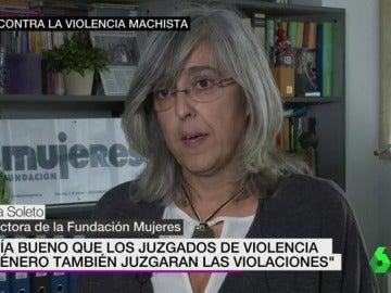 Marisa Soleto, directora de la Fundación Mujeres