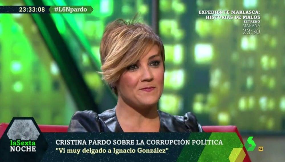 Cristina Pardo, en laSexta Noche