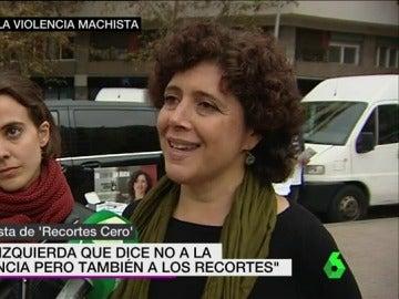 Nuria Suárez, cabeza de lista de 'Recortes Cero'