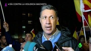 Albiol durante una manifestación por la unidad de España