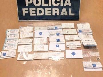 11.500 diamantes incautados a un español en el aeropuerto de Ciudad de México