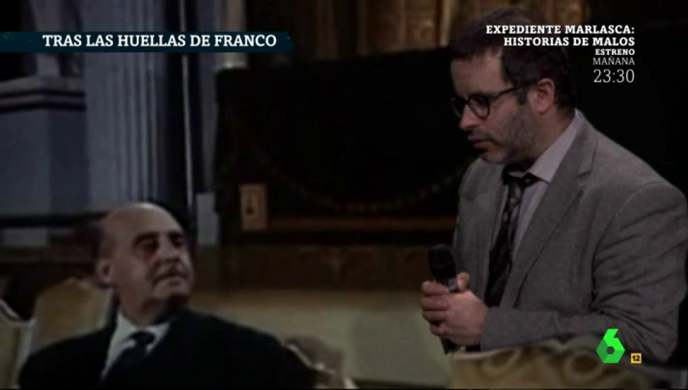 Edu Galán 'entrevista' a Francisco Franco