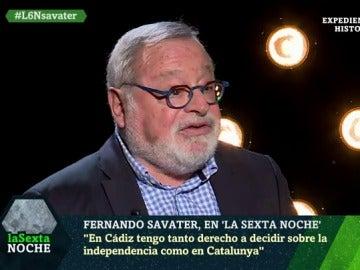 Fernando Savater en laSexta Noche