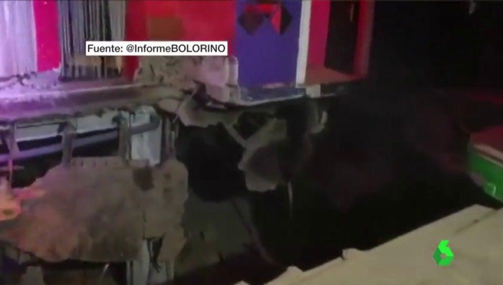 Al menos 22 personas resultan heridas tras hundirse el suelo de una discoteca en Tenerife