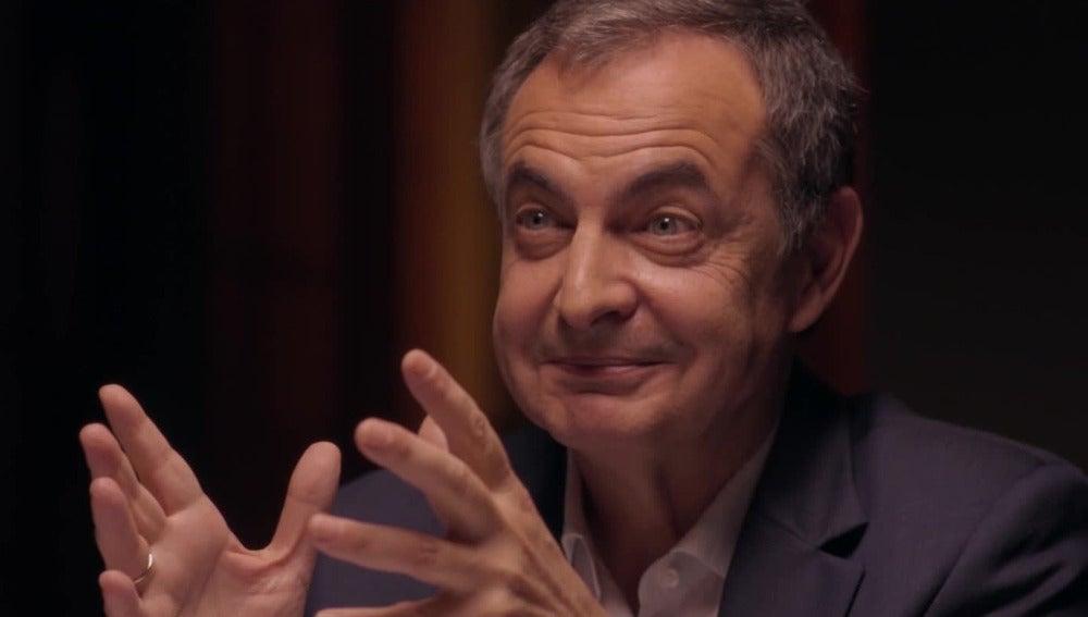El gesto de Zapatero tras la afirmación de José Bono