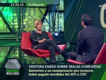 Cristina Pardo habla con Iñaki López