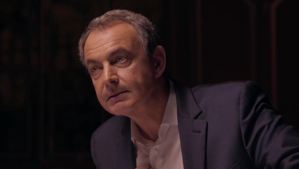 José Luis Rodríguez Zapatero, en Salvados