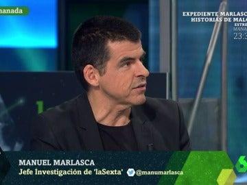 Manuel Marlasca, en laSexta Noche