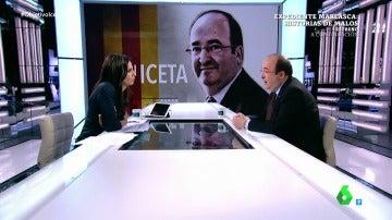 Ana Pastor y Miquel Iceta