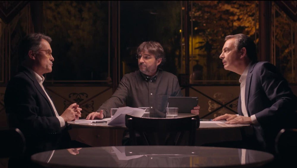 Cara a cara entre Artur Mas y Zapatero