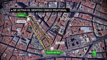 Un mapa que explica el protocolo de circulación