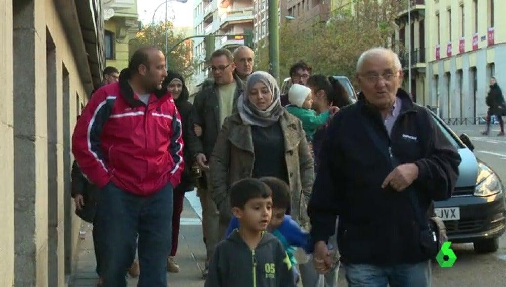 La última familia española bajo el dominio del Dáesh llega a España