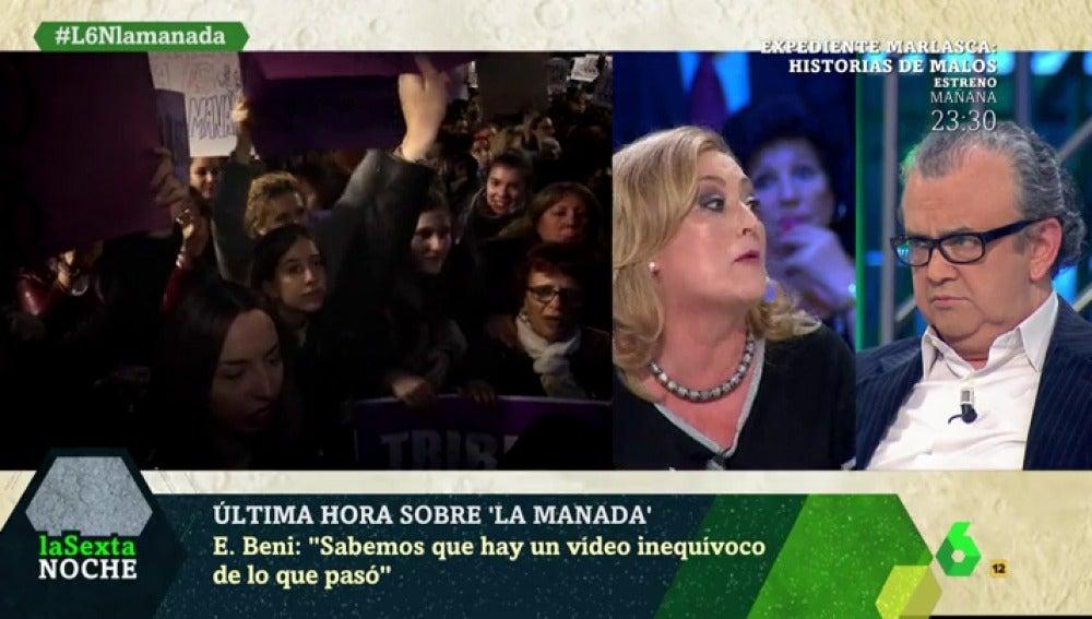 Elisa Beni, en laSexta Noche