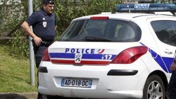 Imagen de archivo de un vehículo de la Policía francesa.