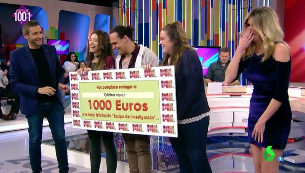 premio 1.000 zapeando