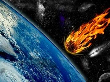 El impacto del meteorito produjo un enfriamiento muy intenso de la superficie terrestre