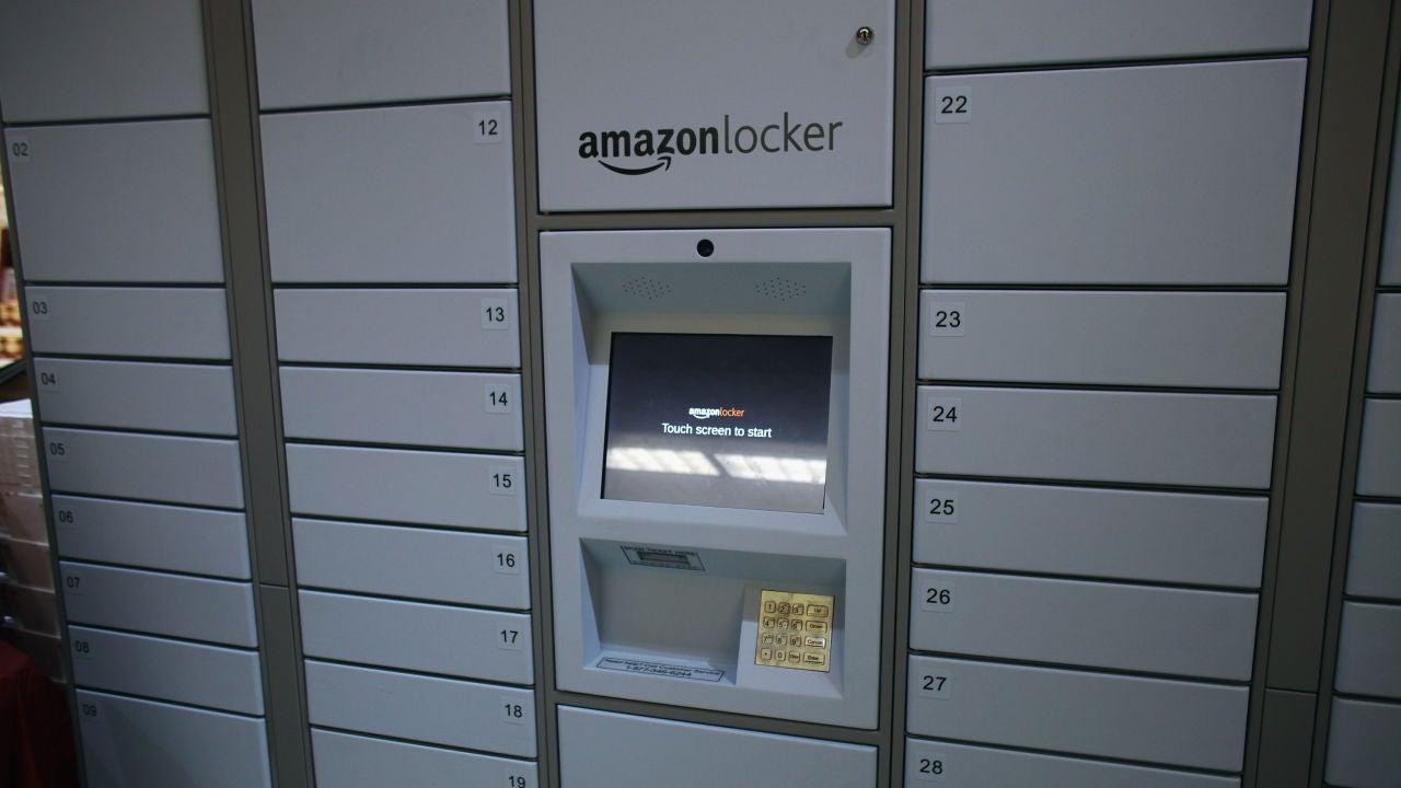 Taquillas automáticas de Amazon