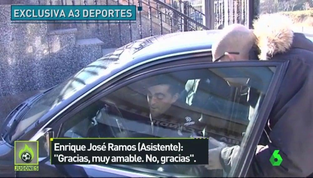 """Ramos Ferreiro, asistente del Valencia-Barcelona: """"No podemos hacer declaraciones"""""""