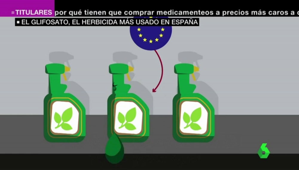 El glifosato, el herbicida más usado en España que ha enfrentado a agricultores y ecologistas