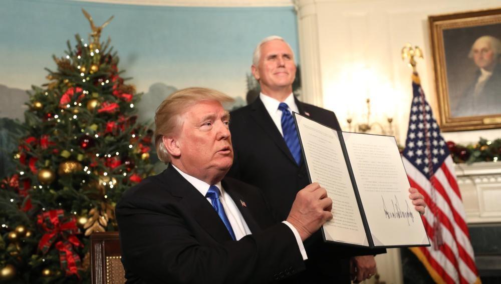 Trump reconoce a Jerusalén como la capital de Israel y anuncia un plan para trasladar la embajada allí