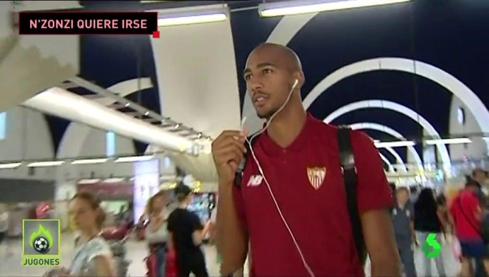 Malestar en Sevilla con la situación de N'Zonzi, que viaja a Londres en busca de equipo