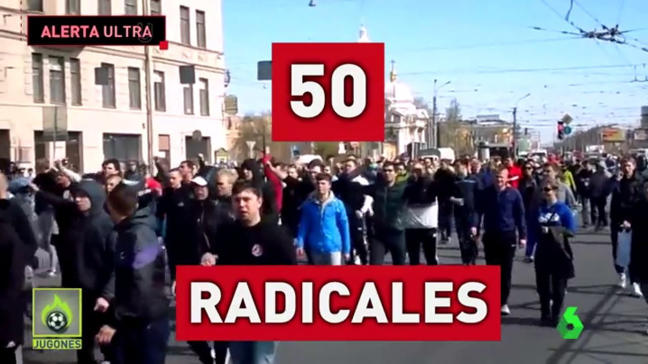 Asi Son Los Ultras Del Zenit Que Hacen Saltar Las Alarmas En San Sebastian