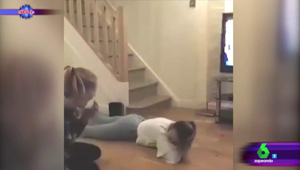 El golpe de una chica