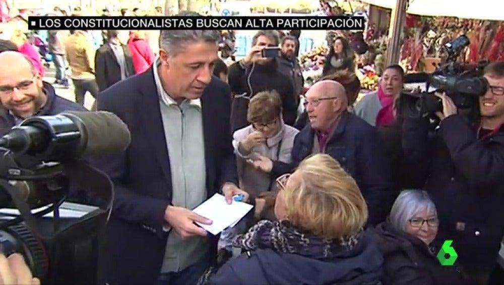 Xavier García Albiol, líder del PP catalán