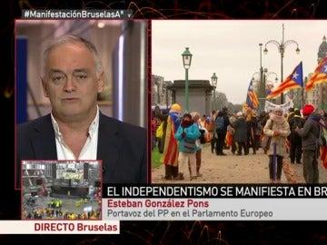 """Esteban González Pons: """"Puigdemont no escapará de la acción de la Justicia"""""""
