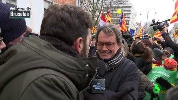 Gonzo pregunta al expresident Artur Mas