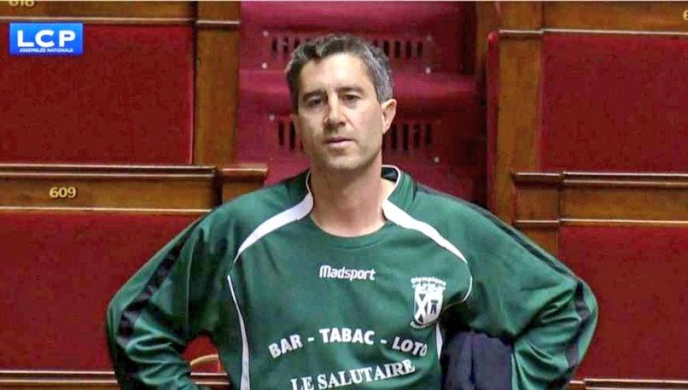 François Ruffin, diputado del partido de extrema izquierda La Francia Insumisa
