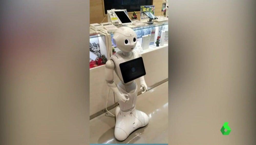 El robot flamenco de Tokio