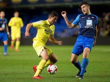 Pablo Fornals, en un partido con el Villarreal