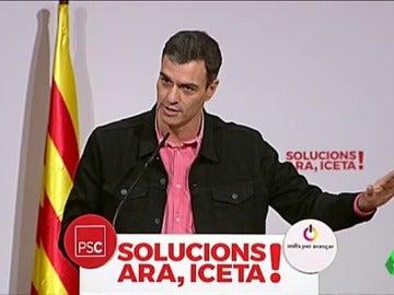 """Sánchez: """"El PP y su media naranja comparten la forma de hacer política: dicen una cosa y hacen la contraria"""""""