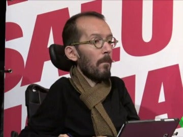 """Echenique: """"Cuando ponga la papeleta en la urna si vota a PSC, Ciudadanos o PP que no se olvide que Aznar se lo pidió"""""""