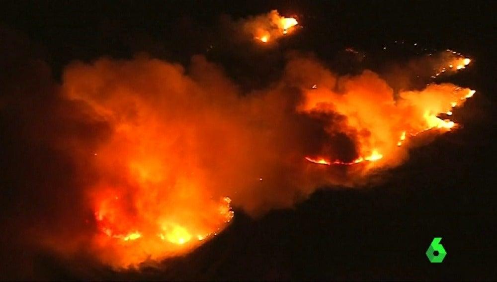 El incendio de California