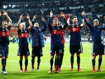 El Bayern Múnich gana al Eintracht Fráncfort