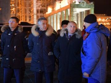 Vladimir Putin visita la planta para licuar el gas natural de Yamal LNG