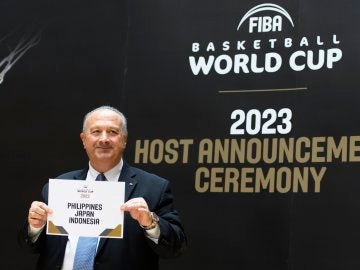 Filipinas, Japón e Indonesia serán las sedes del Mundial 2023