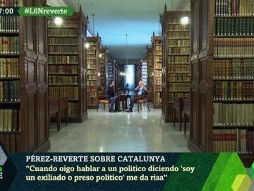 """Arturo Pérez-Reverte: """"España es un Estado fallido. Nos ha faltado una guillotina, a veces no tan simbólicamente"""""""
