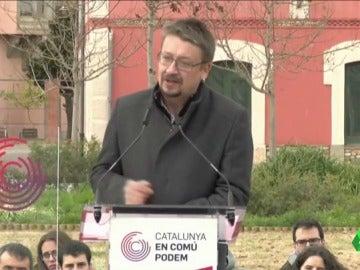 """Xavier Domènech: """"Un millón de catalanes todavía no han decidido qué votarán porque saben que los bloques no representan"""""""