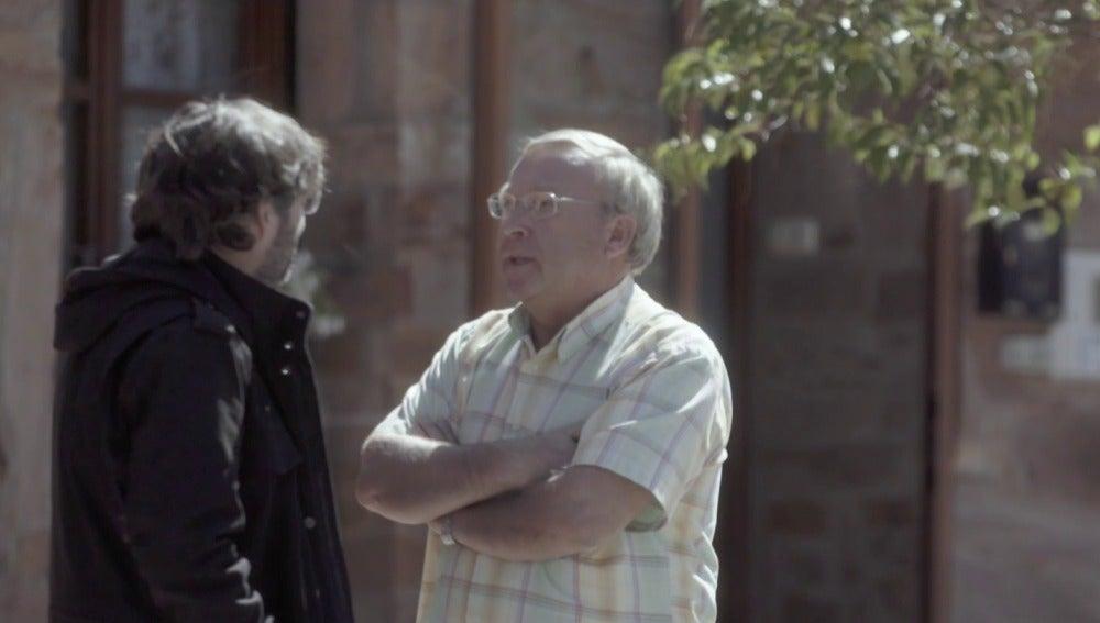 Jordi Évole en Tábara