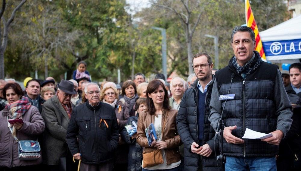 Xavier García Albiol, candidato del PPC a las elecciones en Cataluña