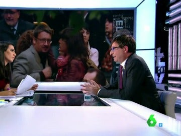 Ana Pastor con Carles Mundó