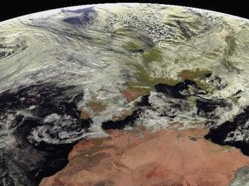 Imagen del satélite Meteosat para la Agencia Estatal de Meteorología