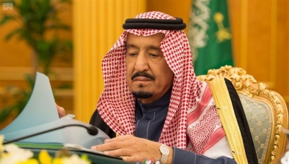 El rey de Arabia Saudí Salmán bin Abdulaziz