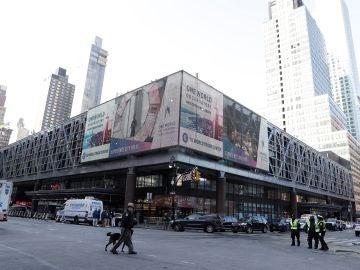 Estación en la que ha ocurrido la explosión en Nueva York