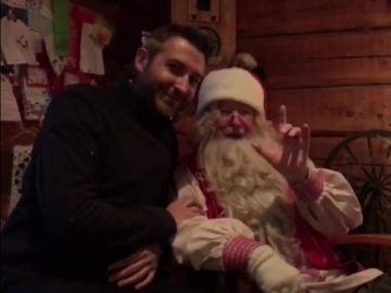 El mensaje oficial de Santa Claus a Zapeando desde Laponia