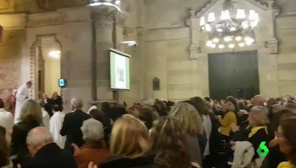 Misa homenaje a Forn en Barcelona